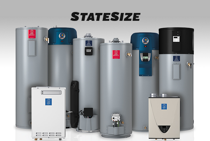 State Water Heater Sizing